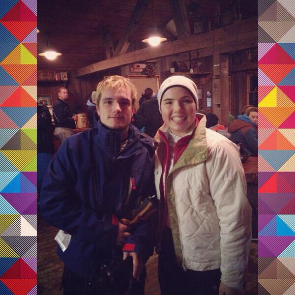 Photo de Josh avec une fan,à West Virginia,prise le 04 janvier 2014.