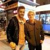 Photo de Josh un fan à Madrid,le 25 janvier 2014.