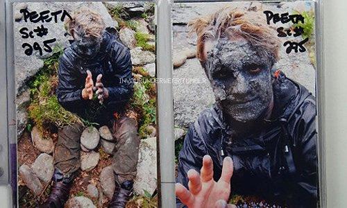 "New/old BTS de Josh de ""The Hunger Games""."