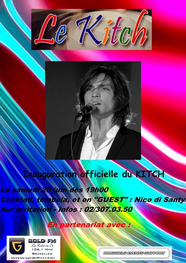 Concert inauguration du Kitch!