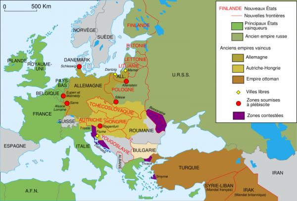 Les origines de la guerre et le réarmement 1918-1938