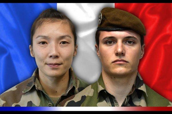 Le sergent Yvonne Huynh et le brigadier Loïc Risser du 2e régiment de hussards de Haguenau sont morts au combat au nord de Ménaka »  Paix à leur ame L'Alsace en deuil...