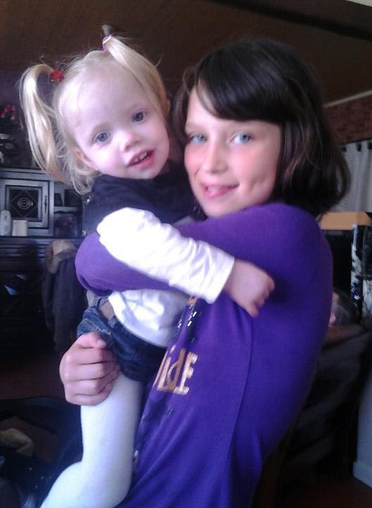 moi et ma tout petite cousine