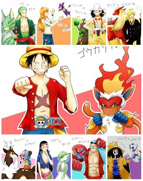 one piece pokemon
