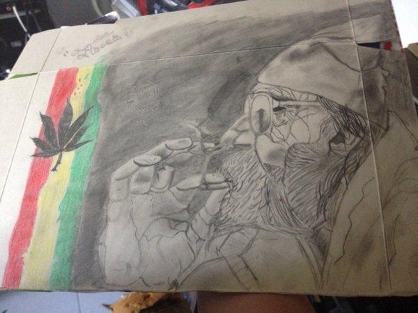 C'est un petit dessin de mon frère ^^