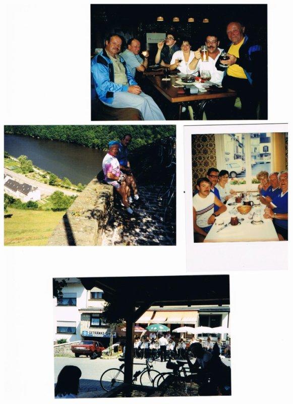Souvenirs 80's d'escapades cyclos....Photos reçues par Jean-Marie Bauwens !!!
