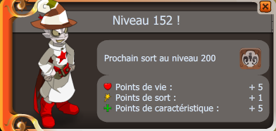 Achat de la Cape Roissingue et up 152 du xelor ! =)