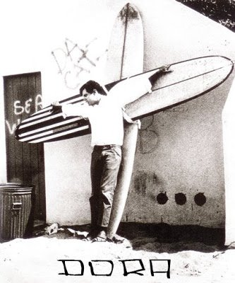 "Mike dora  dit ""da cat "" le chat  .... Surfer Rebelle"