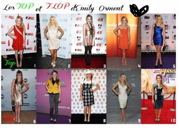 _30.09.2012_ -  Les tops et Flops d'Emily sur le tapis rouge.        Quand Emily se fait belle pour une occasion ça peut-être très réussi... comme très raté. Mais c'est en faisant des flops qu'on s'améliore après tout ! :) (article en collaboration avec PerfectOsment)