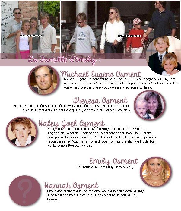 _17.10.2012_ -  La famille d'Emily             Ne vous-êtes vous jamais demandé à quoi pouvait bien ressembler la famille d'Emily ? Et bien aujourd'hui vous en saurez surement un peu plus !