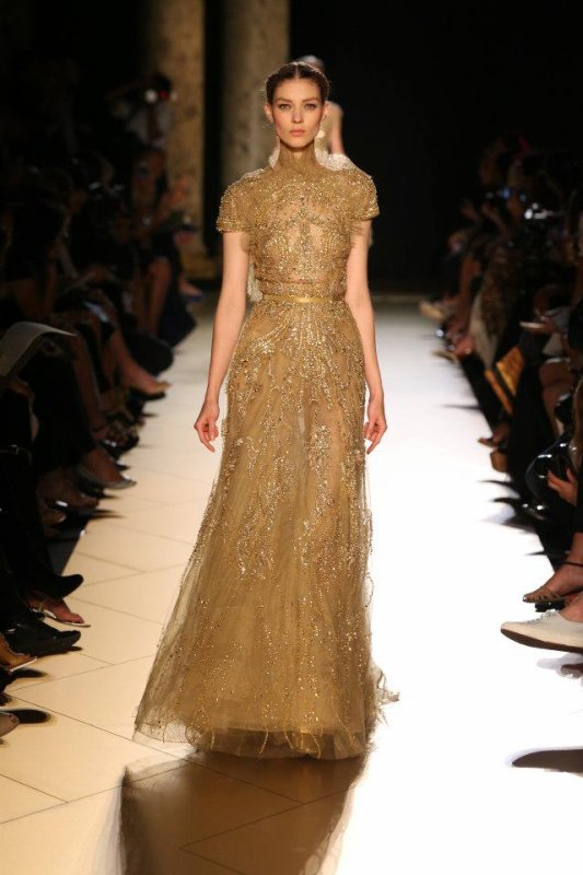 Elie Saab Haute Couture Fall/Winter 2012-2013 Fashion Show