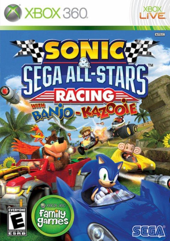 Sonic & Sega All-Stars Racing !!Ici on a du mal à écrasé le érisson^^