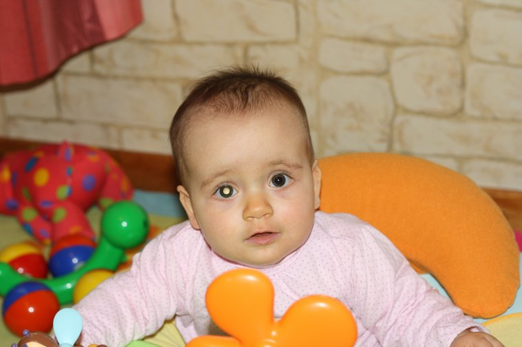 Angelina 8 mois