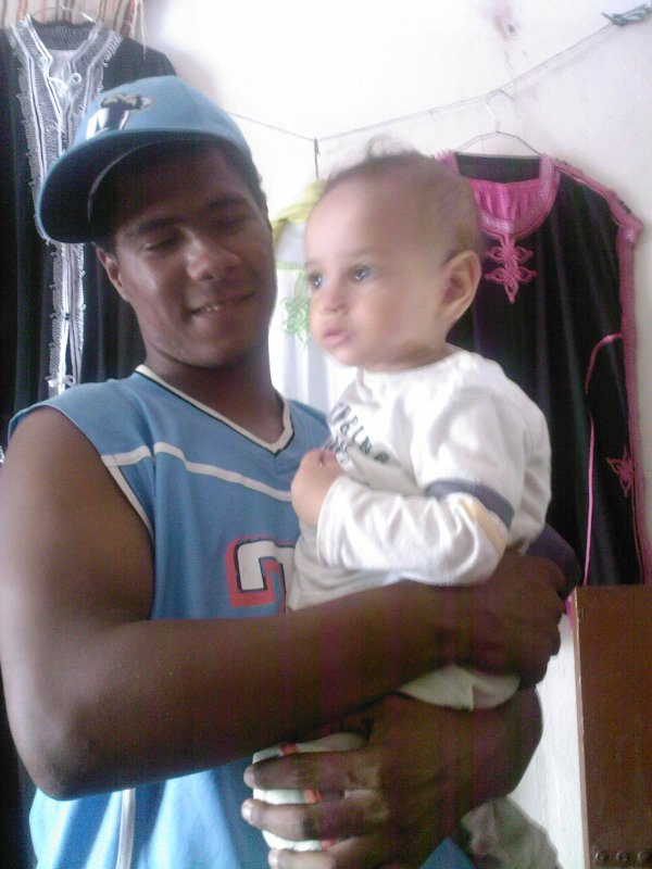 moi avec bebe