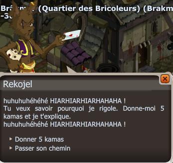 Arnaqueur !!