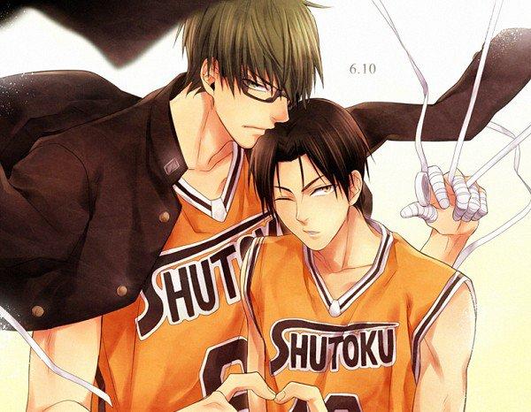 Kuroko no basket ~ Midorima x Takao ♥