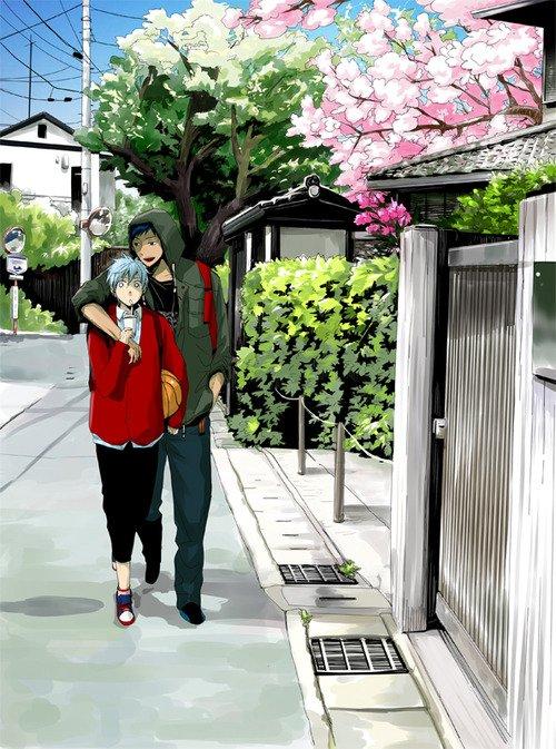 Kuroko no basket ~ Kuroko x Aomine ♥
