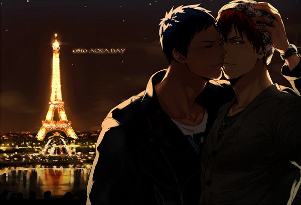 05/10 Happy AoKaga Day ♥