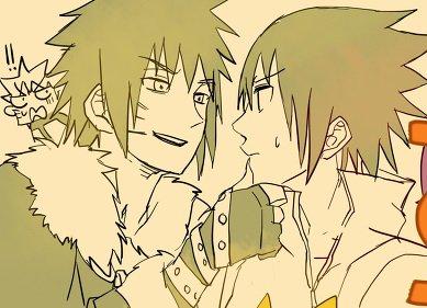 Naruto ~ Menma x Sasuke ♥