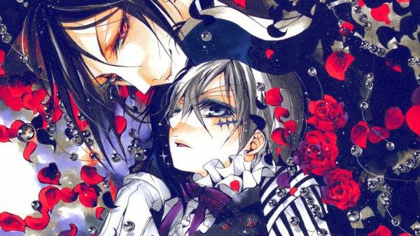 Black Butler ~ Ciel x Sebastian ♥