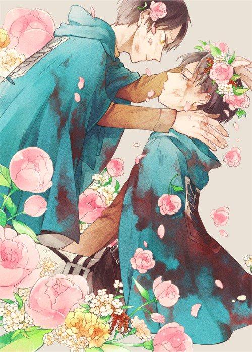 Shingeki no Kyôjin ~ Eren x Rivaille ♥