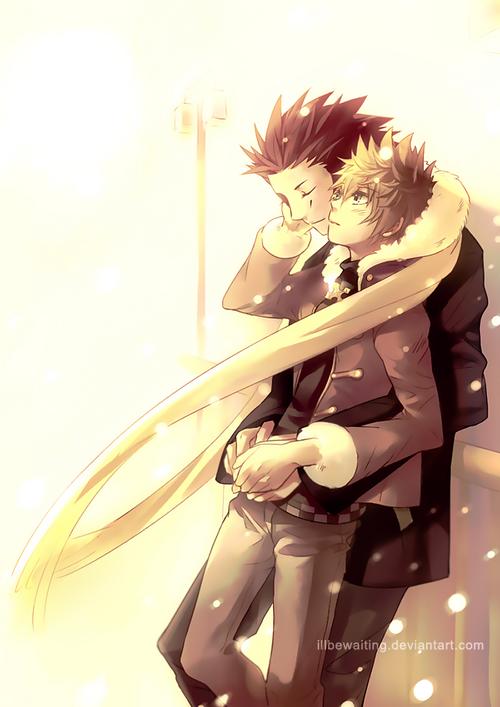 Kingdom Hearts ~ Roxas x Axel ♥