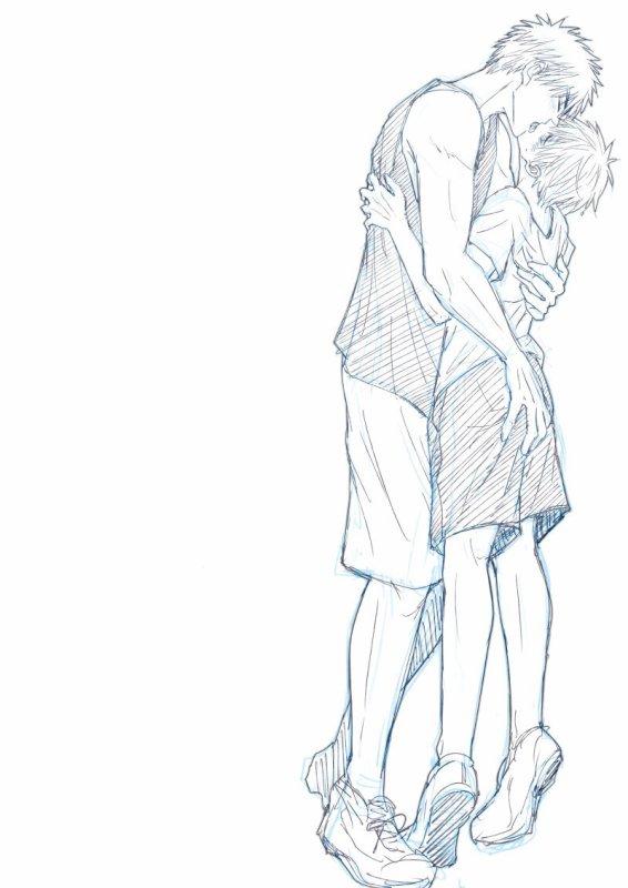 Kuroko no basket ~ Kuroko x Kagami ♥