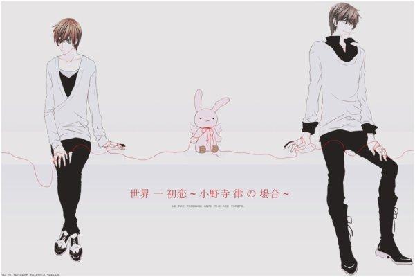 Sekaiichi Hatsukoi ~ Takano Masamune x Onodera Ritsu ♥