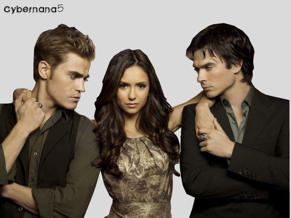 . THE VAMPIRE DIARIES     .  Vous aimez cette série ? Vous avez aimé la saison 1 ?   . Premier épisode jeudi 9 septembre... Laissons nous vampirisés par la saison 2 $)