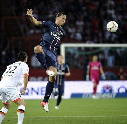 Psg-Fclorient 1ere journée de ligue1 2012-2013 score final: 2-2.