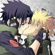 sasunaru kiss