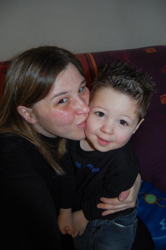Mon fils et moi.......