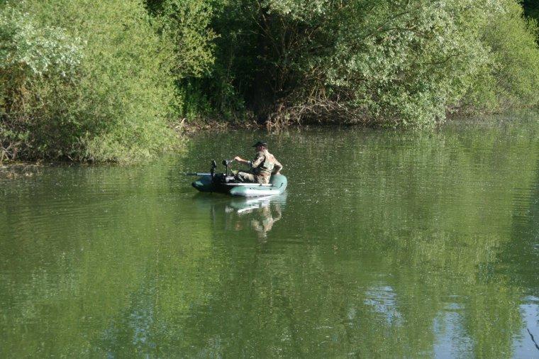 Un marin d'eau douce à Mastercarpe....