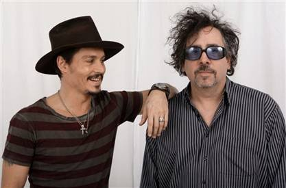 Tim Burton et Johnny Depp <3