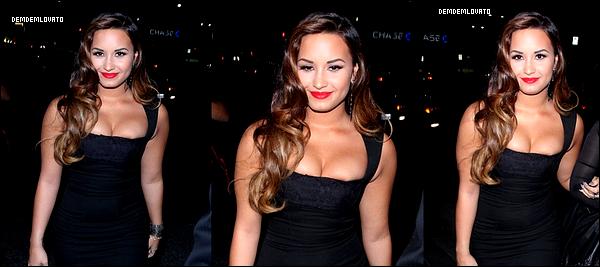 . 27/8/2011 - La magnifique Demi s'est rendu à une soirée de charité organisé par Perez Hilton , elle à chanté skycraper & don't forget. Pour ma part c'est un énorme top !.   .