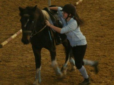 Journée pony-games avec mon cheval.♥