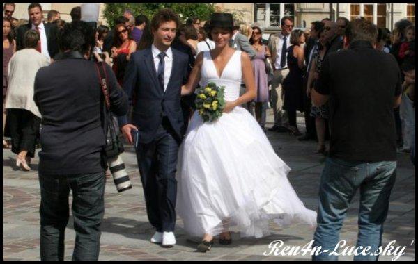 mariage de notre petit renan - Renan Luce Mariage