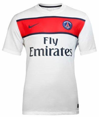 Le Maillot exterieur du PSG 2011/2012