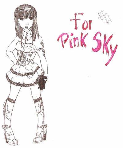Dessin Prévenus: Pink sky'