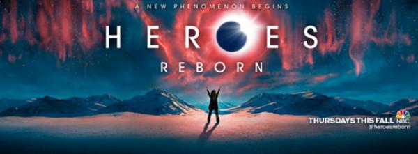NOUVEAU  Heroes Reborn (mini-série)