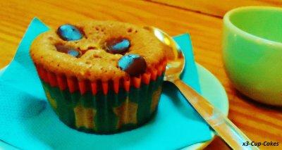 ..........................................................Cupcakes à la Cannelle et pépites de chocolat