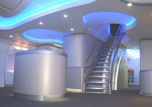 A bord du boeing 747