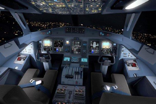 Cockpit de nuit