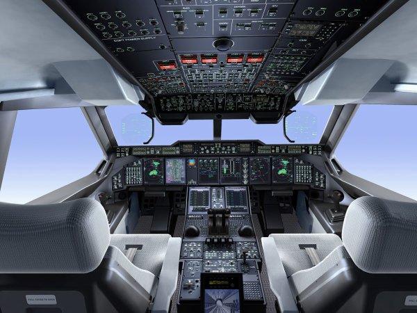 voici un cockpit d'un a400m