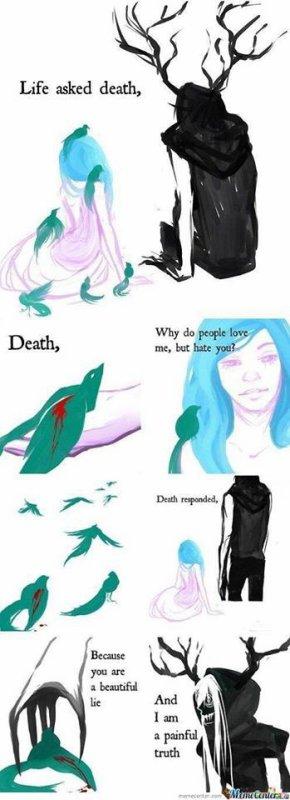 Death vs. Life