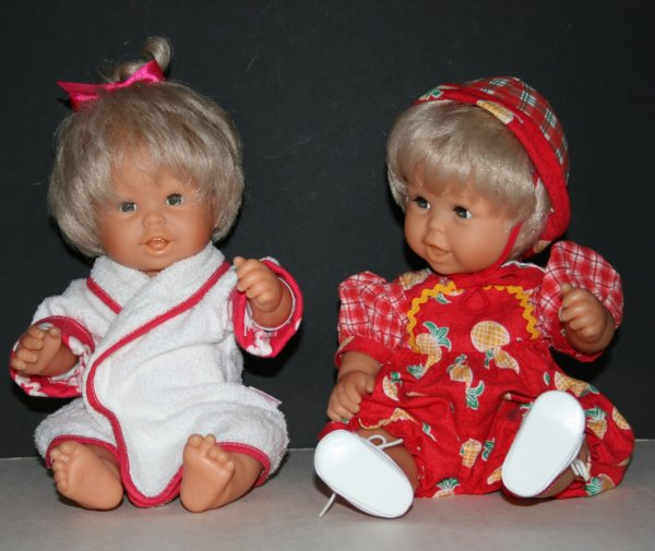 Virginie et Paul de Corolle  Bébé de 36 cm