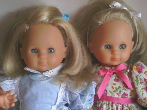 Bonjour mes amies et amis,aujourd'hui  les poupées ZAPF à l' honneur