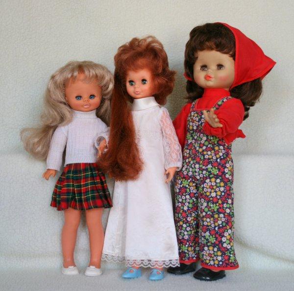 Les poupées et poupons Clodrey de  ma collection