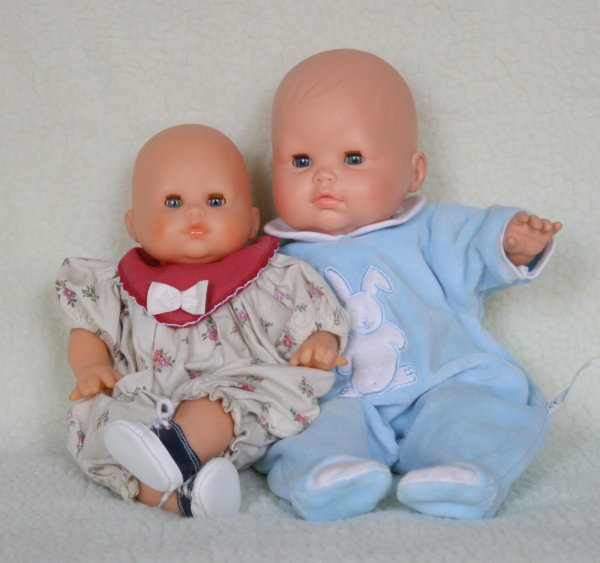 Bébé Do  ,  Pti Lou  , et Capucine   de  Corolle