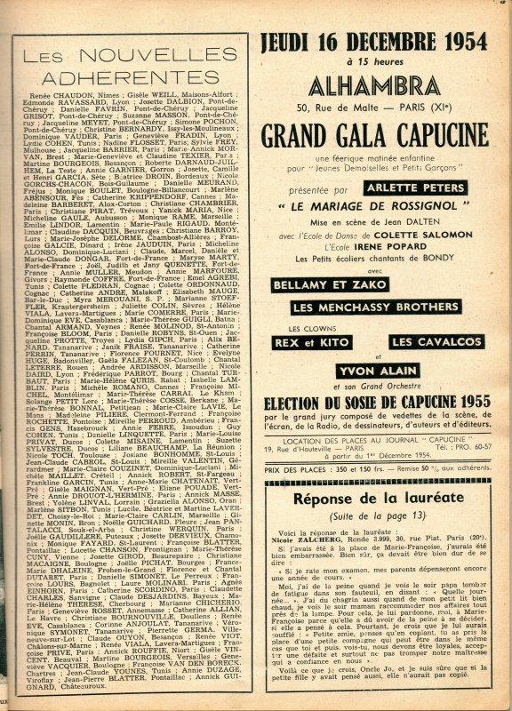 poupée mystère du journal Capucine